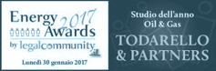 Logo Energy Awards 2017 by Legalcommunity